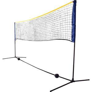 Kombi Netz Set, für Badminton oder Volleyball, Höhe verstellbar