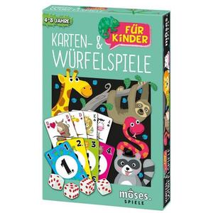 Karten- und Würfelspiele für Kinder (Spielesammlung)