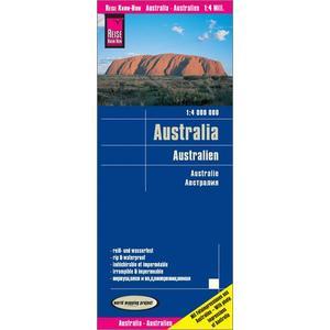 Reise Know-How Landkarte Australien (1:4.000.000)