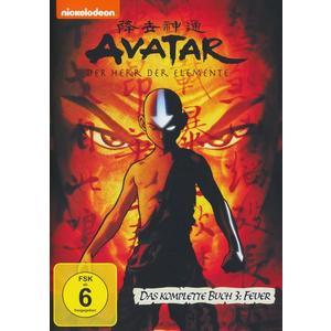 Avatar - Der Herr der Elemente/Buch 3: Feuer - Box [4 DVDs]