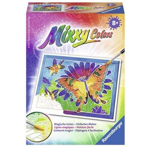 Ravensburger 291038 - Mixxy Colors - Schmetterling - Malen nach Zahlen, MNZ