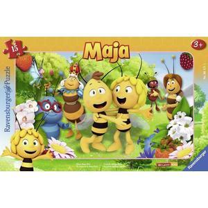 Ravensburger 06121 - Biene Majas Welt,Rahmenpuzzle