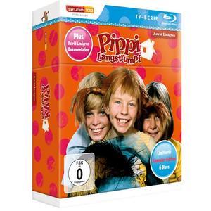 Pippi Langstrumpf TV-Serie Blu-ray Box - Sammler-Edition Limited Edition (+ Bonus-DVD)