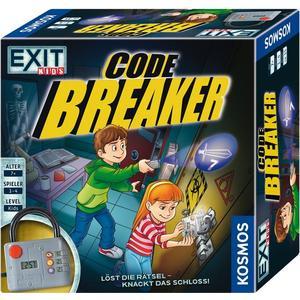 KOSMOS 697921 - Exit Kids - Code Breaker, Löst die Rätsel, knackt das Schloss!