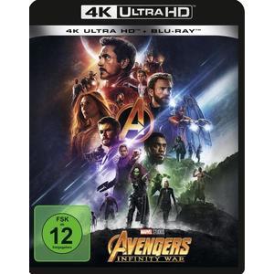 Avengers: Infinity War (4K Ultra HD) (+ Blu-ray 2D)