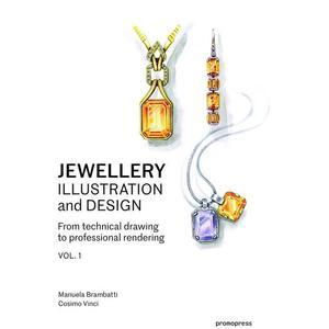 Jewellery Illustration And Design – Vol. 1