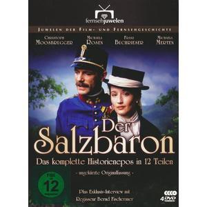 Der Salzbaron - Der komplette Historien-Siebenteiler/Fernsehjuwelen [4 DVDs]
