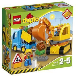 LEGO® DUPLO® 10812 - Bagger & Lastwagen