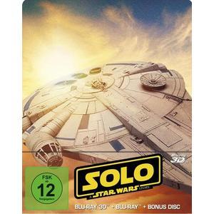Solo: A Star Wars Story 3D Steelbook (+ 2D + Bonus Disc)