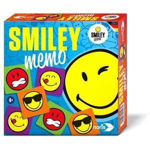 Noris 606011503 - Smiley Memo, Legespiele, bunt