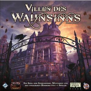 Asmodee FFGB1013 - Villen des Wahnsinns, 2. Edition