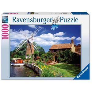 Ravensburger Puzzle: Malerische Windmühle