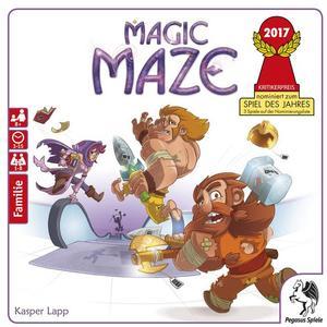 Magic Maze, nominiert zum Spiel des Jahres 2017