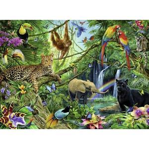 Tiere im Dschungel, Puzzle (Ravensburger 12660)