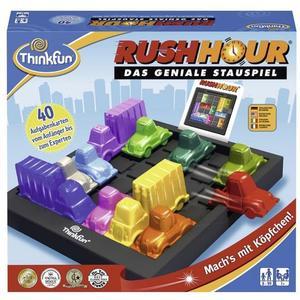 ThinkFun 76301 - Rush Hour, das geniale Stauspiel, Reisespiel
