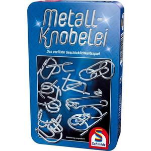 Metall Knobelei in Metalldose