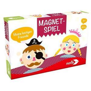Noris 606041624 - Magnetspiel, Meine lustigen Freunde