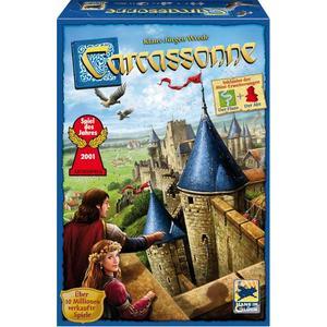 Carcassonne, Spiel des Jahres 2001, neue Edition II