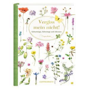 Immerwährendes Geburtstagsbuch - Vergiss mein nicht! (Marjolein Bastin)