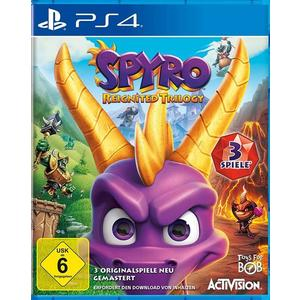 Spyro Reignited Trilogy, 1 PS4-Blu-ray Disc