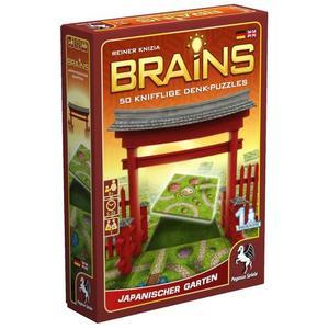 Pegasus 18130G - Brains, Japanischer Garten, Familienspiel, Brettspiel, Denk- und Logikspiel