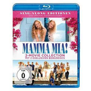 Mamma Mia! / Mamma Mia! Here we go again (+ 2 Bonus-Discs) [2 BRs]