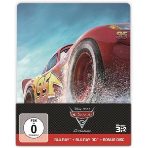 Cars 3 - Evolution - Steelbook (+ Blu-ray 2D) (+ Bonusdisc)