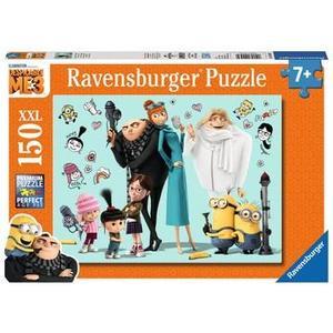 Ravensburger 100439 - Gru und seine Familie, Minions, 150 XXL-Teile, Kinderpuzzle
