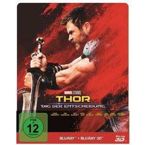 Thor - Tag der Entscheidung (+ Blu-ray 2D) - Steelbook Limited Edition