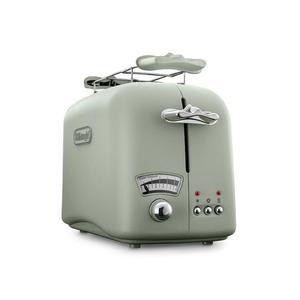DELONGHI CTO21.GR Argento Flora Toaster