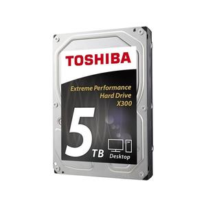 TOSHIBA X300 High-Performance 5TB, SATA 6Gb/s, bulk