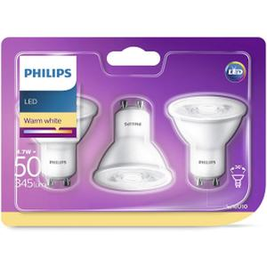 PHILIPS LED GU10 4,7W (50W) 350lm 3er Pack