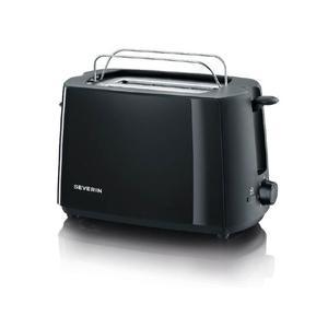 SEVERIN AT 2287 Automatik Toaster, Kaltwand, Röstaufsatz,
