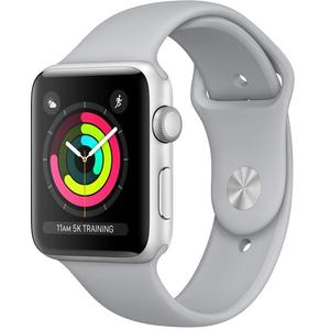 APPLE Watch Series 3 GPS, 42mm Silver Aluminium Case with