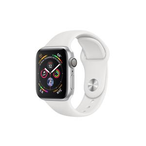 APPLE Watch Series 4 GPS, 40mm Silver Aluminium Case with