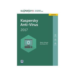 KASPERSKY: Anti Virus 2017, Update, 1 User, 1 Jahr, PKC