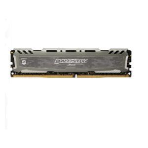 CRUCIAL Ballistix Sport LT grau DIMM 4GB, DDR4-2666,
