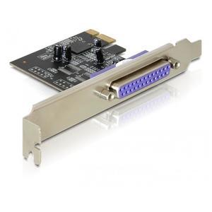 DELOCK PCIe Karte > 1x Parallel