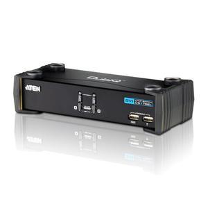 KVMP Switch, ATEN, 2-fach, CubiQ CS1762A, DVI, USB, Audio