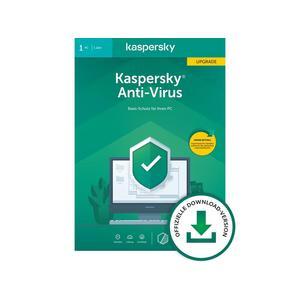 KASPERSKY Anti-Virus 2020 Upgrade (Code in a Box)