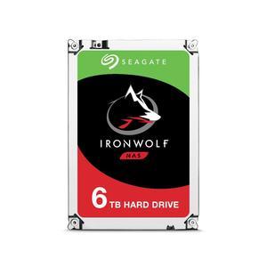 SEAGATE IronWolf NAS HDD 6000GB, SATA 6Gb/s