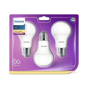 PHILIPS LED E27 13W (100W) matt 1521lm 3er Pack