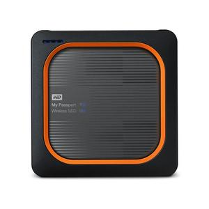 WD My Passport Wireless SSD USB3.0 500GB grau