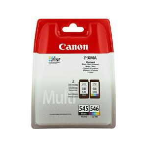 Patrone CANON PG-545/CL-546 Tinte schwarz/farbig Multipack