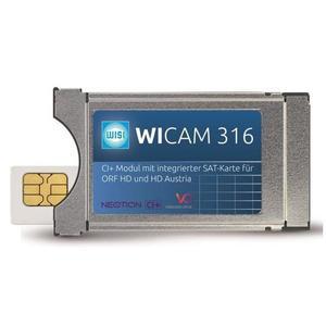 CI+ Modul mit integrierter Smartcard, für ORF und