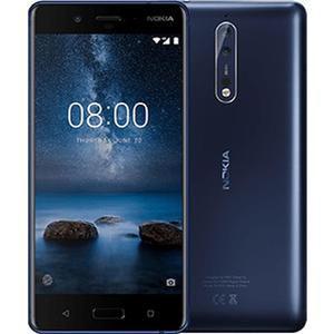 NOKIA 8 Dual-SIM 64GB matt blau