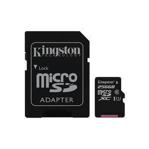 KINGSTON Canvas Select microSDXC 256GB Kit UHS-I U1/Class 10