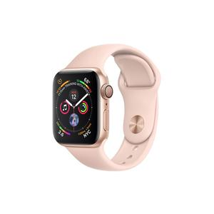 APPLE Watch Series 4 GPS, 40mm Gold Aluminium Case with