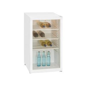 EXQUISIT Kühlschrank 1- 10-4.1 E Getränkekühlschrank, wei