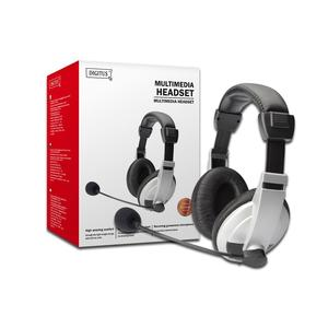 DIGITUS Multimedia Headset DA-12201